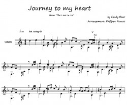 FORTE Paritur P Pencet Journey to my Heart von Emily Bear