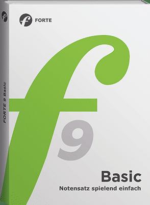 Bild der Verpackung FORTE 9 Basic Edition