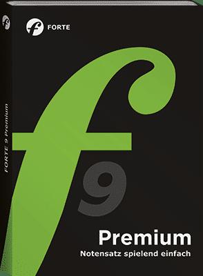 Bild der Verpackung FORTE 9 Premium Edition