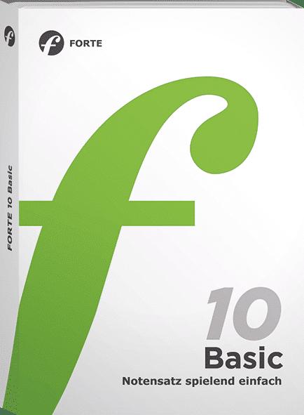 Bild der Verpackung FORTE 10 Basic Edition